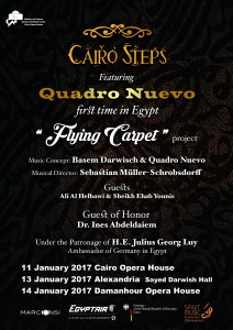 Cairo Steps feat Quadro Nuevo Cairo Opera House